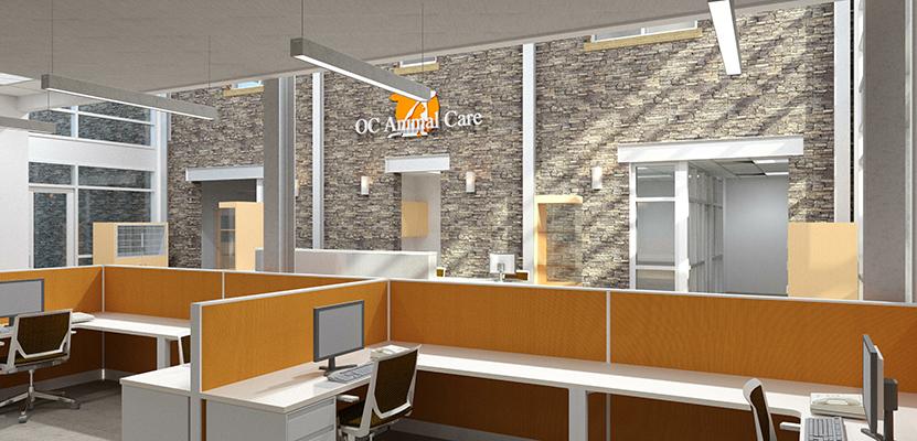 Rfa orange county animal care facility ocacf tustin ca - Interior design schools orange county ...