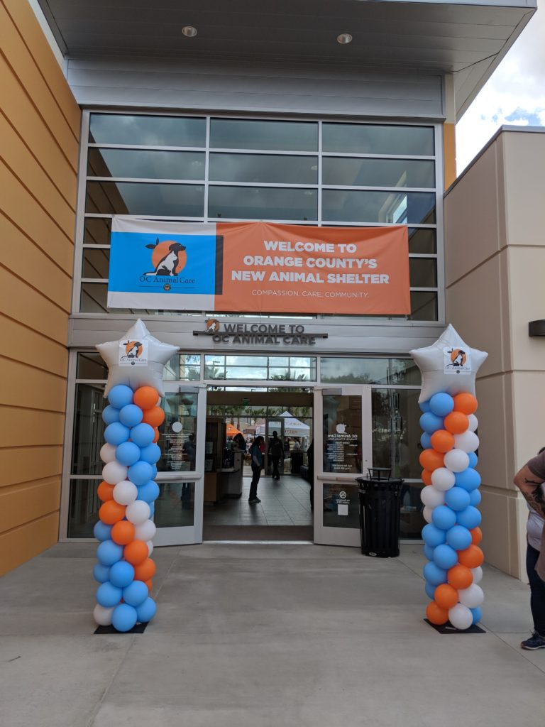 Orange County Animal Care Facility Grand Opening